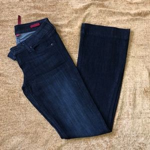 Banana Republic Dark wash flare jeans